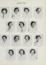 Page 11, 1955 Edition, Olney High School - Trojan Yearbook (Philadelphia, PA) online yearbook collection