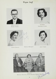 Page 8, 1955 Edition, Olney High School - Trojan Yearbook (Philadelphia, PA) online yearbook collection