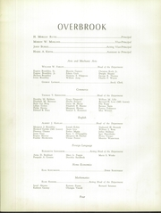 Page 10, 1952 Edition, Overbrook High School - Record Yearbook (Philadelphia, PA) online yearbook collection