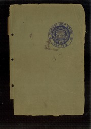 1918 Edition, Schenley High School - Schenley Journal Yearbook (Pittsburgh, PA)