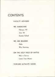 Page 9, 1943 Edition, Schenley High School - Schenley Journal Yearbook (Pittsburgh, PA) online yearbook collection