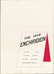 Page 5, 1948 Edition, Lower Merion High School - Enchiridion Yearbook (Ardmore, PA) online yearbook collection
