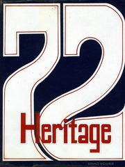 1972 Edition, Red Land High School - Heritage Yearbook (Lewisberry, PA)