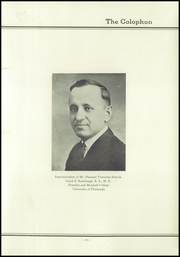 Page 13, 1936 Edition, Mount Pleasant High School - Log Yearbook (Mount Pleasant, PA) online yearbook collection