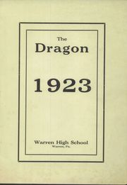 Page 3, 1923 Edition, Warren Area High School - Dragon Yearbook (Warren, PA) online yearbook collection