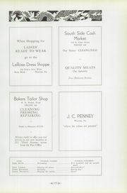 Page 173, 1934 Edition, Warren Area High School - Dragon Yearbook (Warren, PA) online yearbook collection