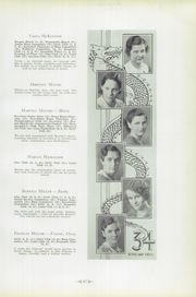 Page 55, 1934 Edition, Warren Area High School - Dragon Yearbook (Warren, PA) online yearbook collection