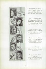 Page 62, 1934 Edition, Warren Area High School - Dragon Yearbook (Warren, PA) online yearbook collection