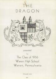Page 5, 1956 Edition, Warren Area High School - Dragon Yearbook (Warren, PA) online yearbook collection