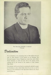 Page 7, 1949 Edition, York Catholic High School - Rosa Mystica Yearbook (York, PA) online yearbook collection