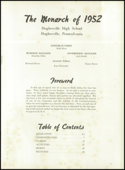 Page 5, 1952 Edition, Hughesville Junior Senior High School - Monarch Yearbook (Hughesville, PA) online yearbook collection