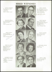 Page 17, 1955 Edition, Hughesville Junior Senior High School - Monarch Yearbook (Hughesville, PA) online yearbook collection