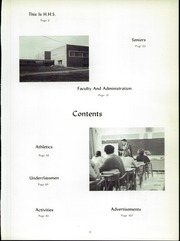 Page 7, 1968 Edition, Hughesville Junior Senior High School - Monarch Yearbook (Hughesville, PA) online yearbook collection
