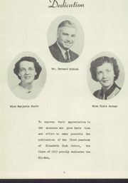 Page 11, 1952 Edition, Elizabeth Forward High School - Eli Mon Yearbook (Elizabeth, PA) online yearbook collection