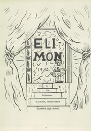 Page 7, 1952 Edition, Elizabeth Forward High School - Eli Mon Yearbook (Elizabeth, PA) online yearbook collection