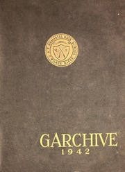G A R Memorial High School - Garchive Yearbook (Wilkes Barre, PA) online yearbook collection, 1942 Edition, Page 1