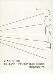 Page 7, 1946 Edition, Richland High School - Portal Yearbook (Johnstown, PA) online yearbook collection