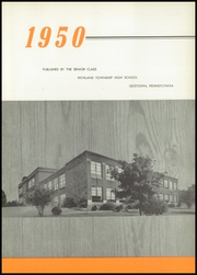 Page 7, 1950 Edition, Richland High School - Portal Yearbook (Johnstown, PA) online yearbook collection