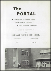 Page 7, 1957 Edition, Richland High School - Portal Yearbook (Johnstown, PA) online yearbook collection