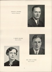 Page 15, 1939 Edition, John Piersol McCaskey High School - Echo Yearbook (Lancaster, PA) online yearbook collection
