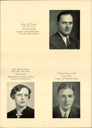 Page 13, 1940 Edition, John Piersol McCaskey High School - Echo Yearbook (Lancaster, PA) online yearbook collection
