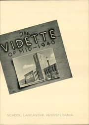 Page 7, 1940 Edition, John Piersol McCaskey High School - Echo Yearbook (Lancaster, PA) online yearbook collection