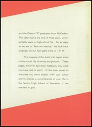 Page 7, 1945 Edition, John Piersol McCaskey High School - Echo Yearbook (Lancaster, PA) online yearbook collection