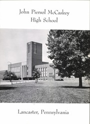 Page 7, 1962 Edition, John Piersol McCaskey High School - Echo Yearbook (Lancaster, PA) online yearbook collection