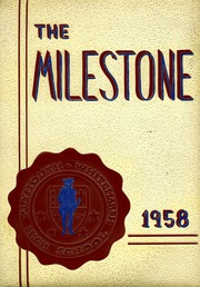 1958 Edition, Plymouth Whitemarsh High School - Milestone Yearbook (Plymouth Meeting, PA)