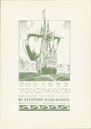 Page 9, 1933 Edition, McKeesport High School - Yough A Mon Yearbook (Mckeesport, PA) online yearbook collection
