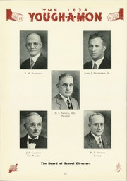 Page 14, 1934 Edition, McKeesport High School - Yough A Mon Yearbook (Mckeesport, PA) online yearbook collection