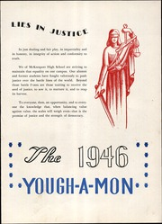 Page 9, 1946 Edition, McKeesport High School - Yough A Mon Yearbook (Mckeesport, PA) online yearbook collection