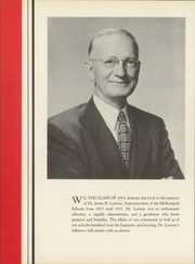 Page 8, 1954 Edition, McKeesport High School - Yough A Mon Yearbook (Mckeesport, PA) online yearbook collection