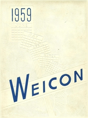 1959 Edition, Conrad Weiser High School - Weicon Yearbook (Robesonia, PA)