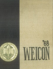 1968 Edition, Conrad Weiser High School - Weicon Yearbook (Robesonia, PA)