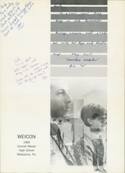 Page 5, 1968 Edition, Conrad Weiser High School - Weicon Yearbook (Robesonia, PA) online yearbook collection