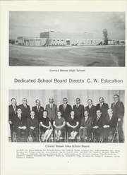 Page 8, 1968 Edition, Conrad Weiser High School - Weicon Yearbook (Robesonia, PA) online yearbook collection