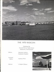 Page 5, 1970 Edition, Conrad Weiser High School - Weicon Yearbook (Robesonia, PA) online yearbook collection