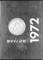 1972 Edition, Conrad Weiser High School - Weicon Yearbook (Robesonia, PA)