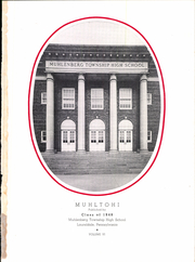 Page 5, 1948 Edition, Muhlenberg High School - Muhltohi Yearbook (Laureldale, PA) online yearbook collection