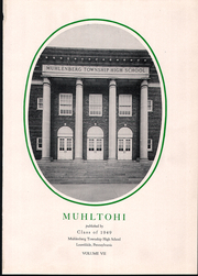 Page 5, 1949 Edition, Muhlenberg High School - Muhltohi Yearbook (Laureldale, PA) online yearbook collection
