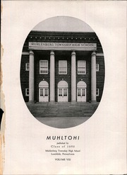 Page 5, 1950 Edition, Muhlenberg High School - Muhltohi Yearbook (Laureldale, PA) online yearbook collection