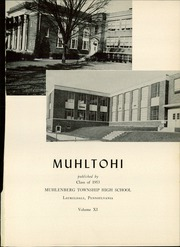Page 5, 1953 Edition, Muhlenberg High School - Muhltohi Yearbook (Laureldale, PA) online yearbook collection