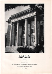 Page 5, 1954 Edition, Muhlenberg High School - Muhltohi Yearbook (Laureldale, PA) online yearbook collection