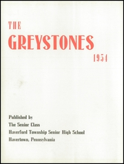 Page 6, 1954 Edition, Haverford High School - Greystones Yearbook (Havertown, PA) online yearbook collection
