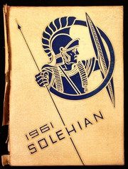 Page 1, 1961 Edition, Southern Lehigh High School - Solehian Yearbook (Center Valley, PA) online yearbook collection
