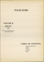 Page 5, 1952 Edition, Palmyra Area High School - Palm Echo Yearbook (Palmyra, PA) online yearbook collection
