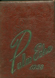 1953 Edition, Palmyra Area High School - Palm Echo Yearbook (Palmyra, PA)