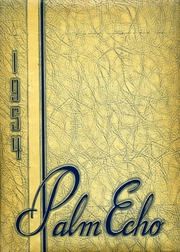 1954 Edition, Palmyra Area High School - Palm Echo Yearbook (Palmyra, PA)