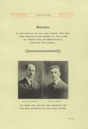 Page 7, 1922 Edition, Corry Area High School - Corrian Yearbook (Corry, PA) online yearbook collection